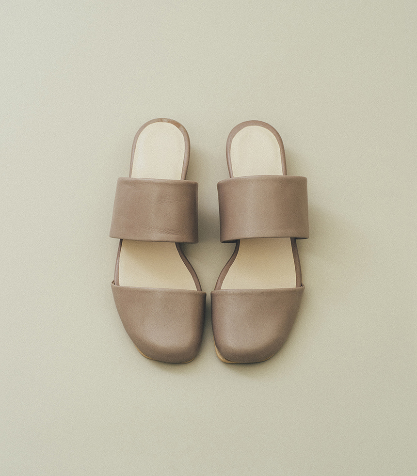 Cap toe sandals